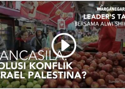 Pancasila Solusi Konflik Israel Palestina?