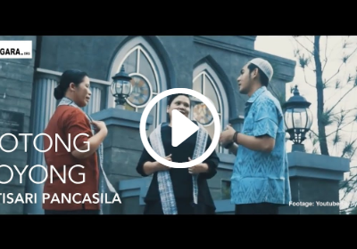 Pidato Soekarno – Gotong Royong Intisari Pancasila