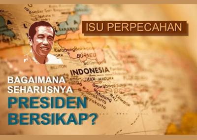 Peran Jokowi Meredam Isu Perpecahan