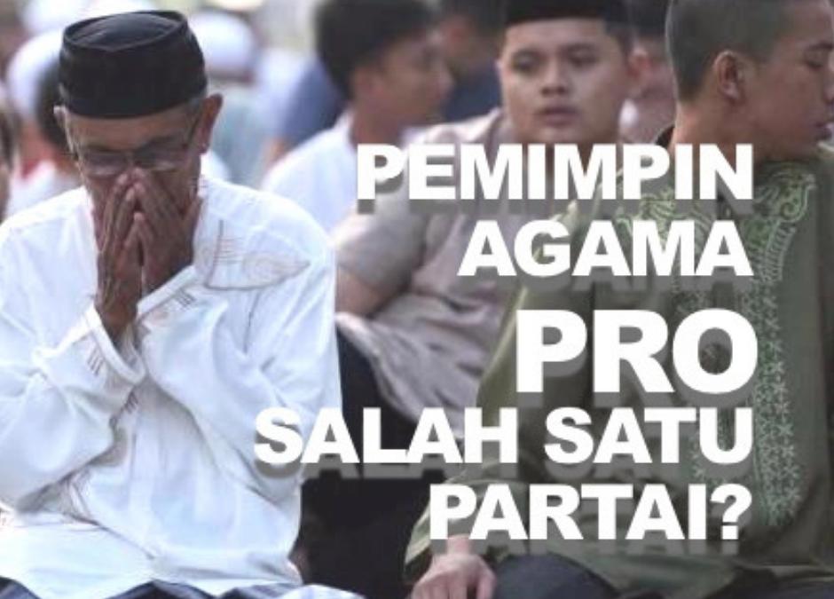 Kalau Pemimpin Agama Pro Salah Satu Partai?
