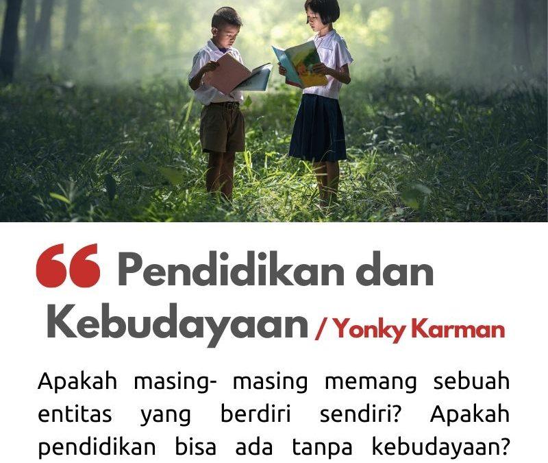Pendidikan dan Kebudayaan